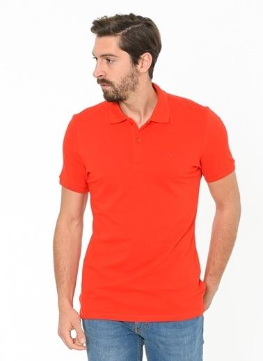 Beymen Business Polo Yaka Tişört Kırmızı